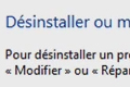Tuto Windows : D�sinstaller un programme